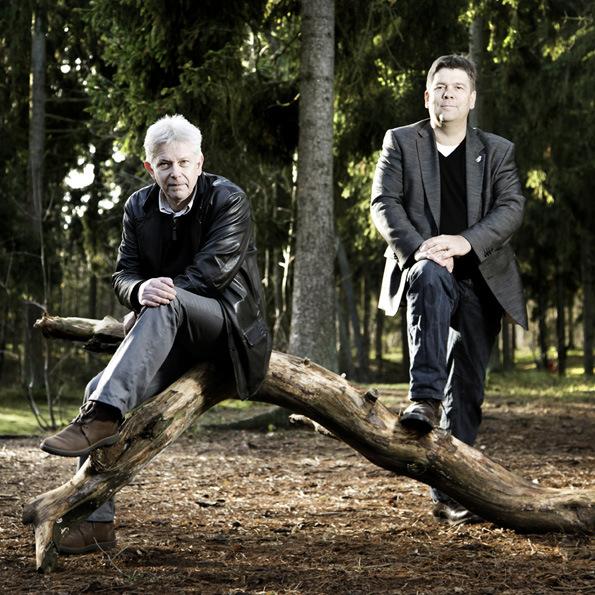 Ole H¿jer Hansen og Steen Kofoed       foto: Henrik Frydkj¾r