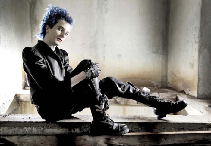 Ras Bolding, Goth musiker. Fotograferet for Berlingske Tidende